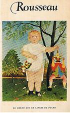 DOUANIER ROUSSEAU HENRI [MAXIMILIEN GAUTHIER] FLAMMARION 1956 TRES BON ETAT