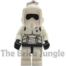 Lego minifig Scout Trooper / Stormtrooper - Keyring - Star Wars / Clone Wars