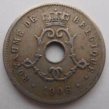 BELGIUM 5 CENTIMES 1906