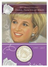 More details for princess diana crown coin carded rare princess of wales