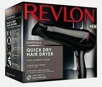 Revlon 2100W Quick Dry Hair Dryer Ultra Lightweight Design Gift Set - UK