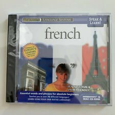 Speak & Lean! French - PC/MAC *** BRAND NEW ***
