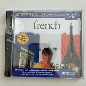 Speak & Lean! French - PC/MAC *** BRAND NEW ***