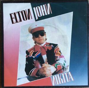 """Elton John - Nikita - Vinyl 7"""" 45T (Single)"""