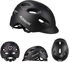 Stylish Adult Road Bike Helmet Protector Adjustable Black
