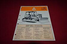 Allis Chalmers HD-11 Series B Crawler Tractor Dealers Brochure YABE11