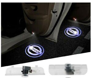 Car Logo Projector Welcome Light adapts Altima/Armada/Maxima/Quest/Titan 2pcs