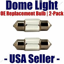 Dome Light Bulb 2-Pack OE Replacement - Fits Listed Toyota Vehicles - DE3423