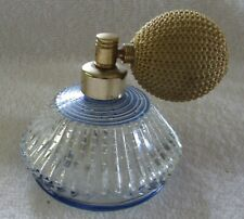 DeVilbiss Perfume Cologne glass bottle cone-shaped