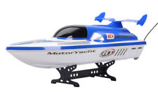 D33 Blue Length 44.4Cm Remote Control Speedboat Rowing Boat Model Gift Toy O