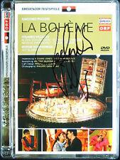 DVD Rolando VILLAZON Signiert PUCCINI LA BOHEME Schirmer Alexia Voulgaridou ORF