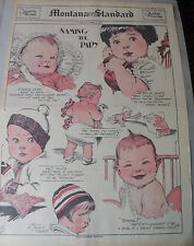 Sunday Magazine Cover by Ethel Hays from 4/2/1933 Full Page Size!