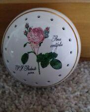 Avon Vintage China Pomander Rosa Centifolia