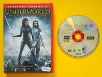 DVD Film Ita Fantascienza UNDERWORLD La Ribellione Dei Lycans ex nolo no vhs(T4)