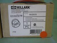 Hubbell Killark NV2IG15 Incandescent Light Fixture A19/A21 - NEW