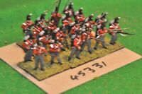 28mm napoleonic / british - infantry regt. 20 figures plastic - (45331)
