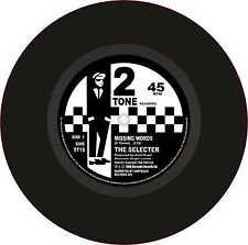 "Ska 2Tone Printed Cut Exterior Vinyl 7"" 178mm Decals The Selecter Missing Words"