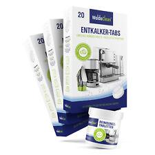 60 Entkalkungstabletten 40 Reinigungstabletten kompatibel mit WMF Jura Krups AEG