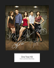 ONE TREE HILL #1 Signed 10x8 Mounted Photo Print (REPRINT) - FREE DELIVERY