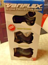 Variflex In-Line Protective Gear Set,Wrist,Elbow & Knee Guards Size S/M Niob