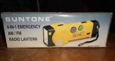1993 vintage suntone 4 in 1 emergency am/fm radio lantern works in the box new
