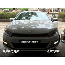 *VW SCIROCCO XENON COOL WHITE LED SIDELIGHT BULBS CANBUS ERROR FREE 8SMD R