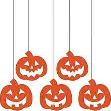 Pumpkins Jack O Lanterns Carnival Halloween Party Decoration Glitter Cutouts