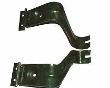 Headlight Headlamp Bracket Support Black Pair For Jeeps MB Ford 41-45 ECs