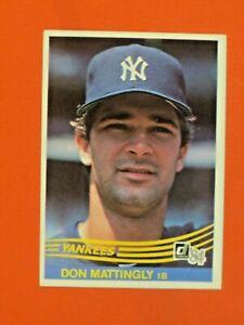1984  Donruss   Don Mattingly  # 248    NM Combined Shipping