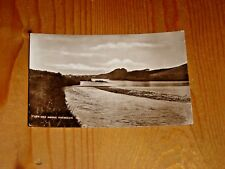 POSTCARD.  RIVER DEE ABOVE ABERDEEN