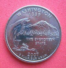 "USA    B/UNC  USA    STATE QUARTER    2007  ""WASHINGTON"" Mint D"