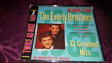 CD The Everly Brothers / 32 Greatest Hits - So many Years - Album 2CD BOX 1989
