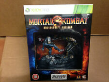 Mortal Kombat 9 Collectors Edition With Statue Figure Figurine Sealed UK BBFC