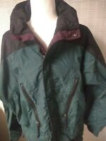 Womens COLUMBIA SPORTSWEAR Nylon Rain Jacket Sz M