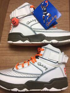 Immaculate DEADSTOCK PATRICK EWING Athletics 33 HI Gray/Orange/White Knicks 12 D
