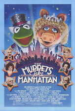 THE MUPPETS TAKE MANHATTAN Movie POSTER 27x40 CAMEO(S) Dabney Coleman James Coco