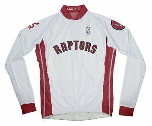 New Vomax Toronto Raptors Nba Basketball Womens Cycling Long Sleeve Jersey XL