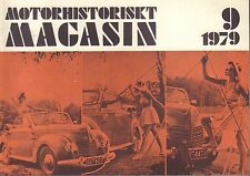 Motorhistoriskt Magasin Swedish Car Magazine 9 1979 Chevrolet 1931 032717nonDBE