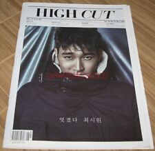 HIGH CUT VOL.162 SUPER JUNIOR SIWON f(x) VICTORIA KOREA MAGAZINE TABLOID NEW