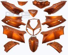 Kit carénage capot 13 verkleidungsteile orange pour Peugeot Speedfight