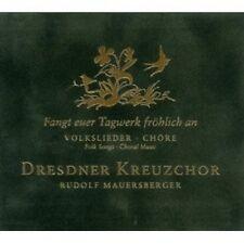 RUDOLF/DRESDNER KREUZCHOR MAUERSBERGER -FANGT EUER TAGEWERK FRÖHLICH AN  CD NEUF