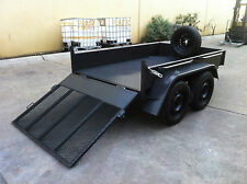 BRAND NEW Tandem Box Trailer with ramp dual axle 8X5 2T ATM  AUSTRALIAN MADE