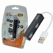 ds Hub Sdoppiatore 4 Porte Usb 2.0 Tascabile Linq It-h418
