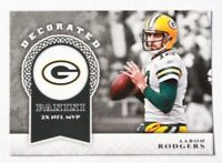 2017 Panini Decorated Aaron Rodgers #D-AR