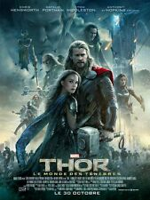 Thor 2 Dark World - original DS movie poster D/S 27x40 - FRENCH