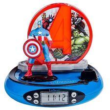 Lexibook Rp500av Avengers Proiettore Sveglia con Radio