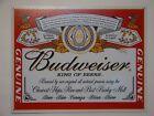 "Vintage Style ""Budweiser King of Beers""  Metal Sign Man Cave Garage Decor S56"