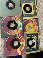 lot of 6-D different Floyd Cramer Pop Rock Vinyl records 45