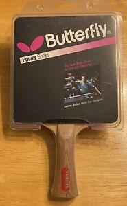 Vintage Yuki FL Butterfly Power Series Table Tennis Paddle D13 Japan NOS