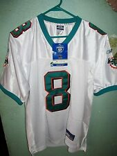 MIAMI DOLPHINS DAUNTE CULPEPPER JERSEY SIZE ADULT 46 SEWN NWT